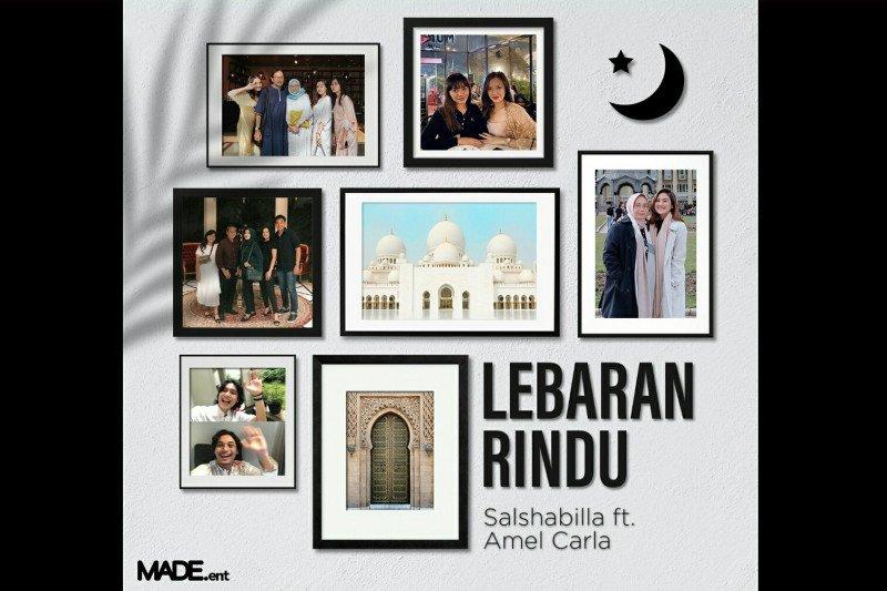 """Salshabilla Adriani dan Amel Carla berkolaborasi di """"Lebaran Rindu"""""""