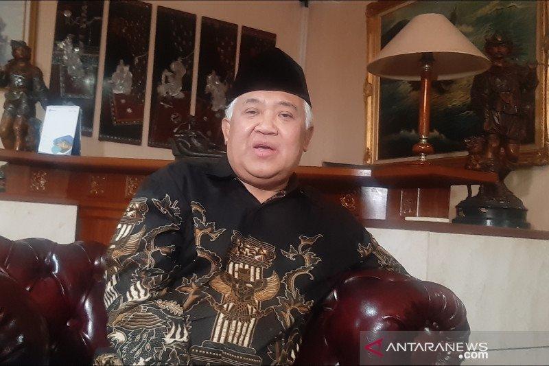 Din Syamsuddin ajak umat konsisten beribadah di rumah selama pandemi COVID-19