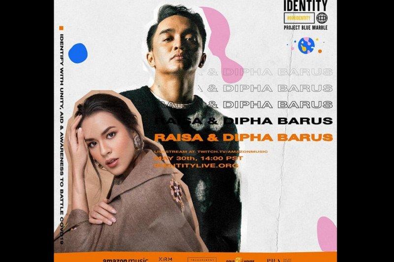 Raisa dan Agnez Mo tampil di konser amal internasional