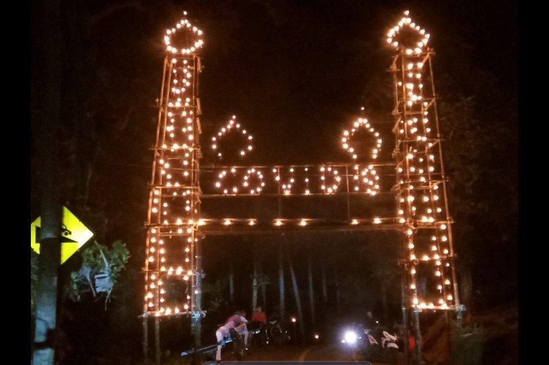 Gerbang COVID -19 di Serasan sambut Idul Fitri