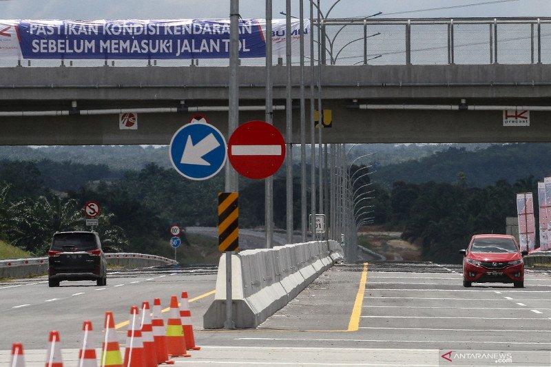 17.000 kendaraan melintas selama Lebaran di Tol Pekanbaru-Dumai meski ada larangan Mudik