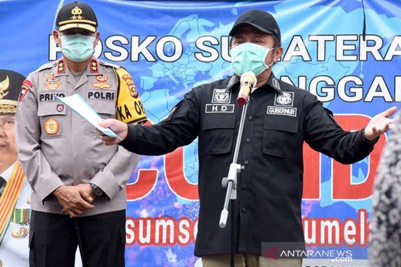 Gubernur Sumsel isyaratkan penerapan PSBB Kota Palembang pekan ini