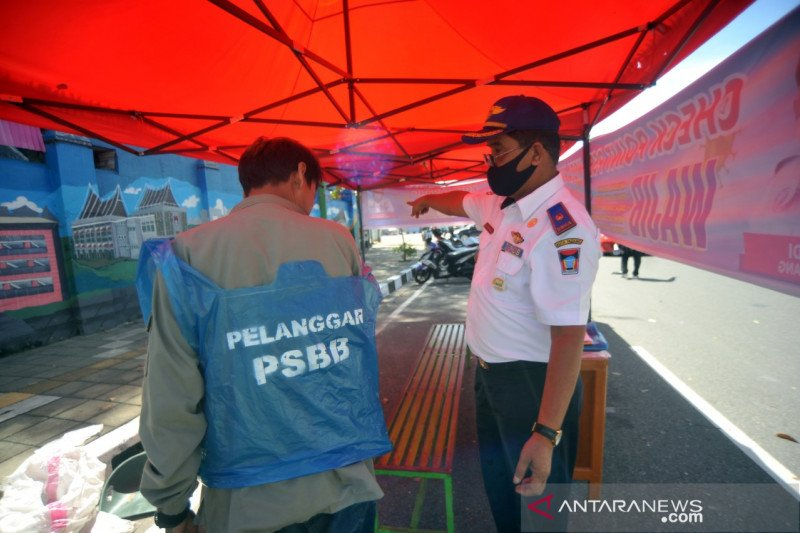 Ini sanksi untuk warga Padang yang langgar PSBB