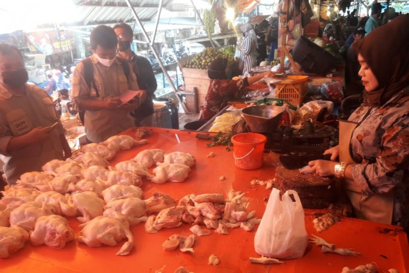 Pedagang Cianjur turunkan harga ayam karena sepi pembeli