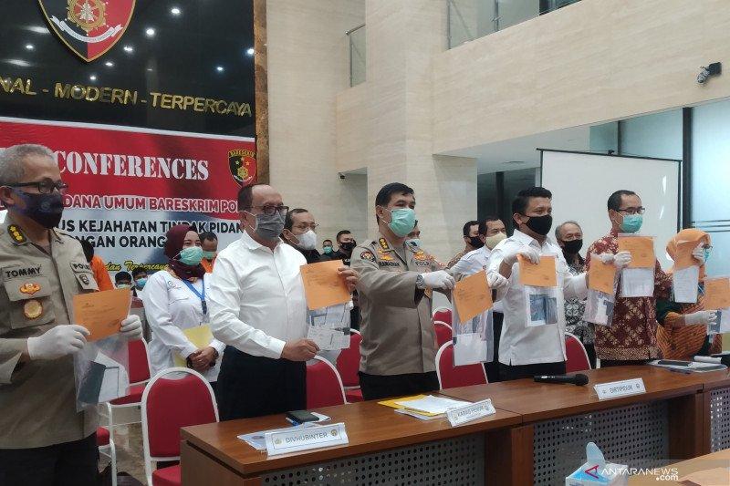 Polri: Tiga tersangka janjikan korban menjadi ABK legal bergaji layak