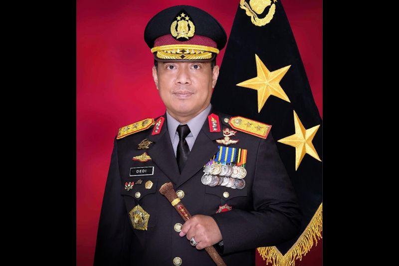 Kapolda Kalteng Dedi Prasetyo resmi sandang bintang dua