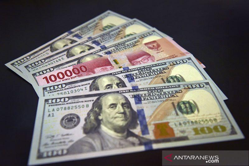 Rupiah Selasa pagi melemah 18 poin ke posisi Rp14.273 per dolar AS