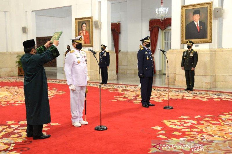 KSAU Marsekal TNI Fadjar Prasetyo diminta jaga wilayah udara kawasan perbatasan