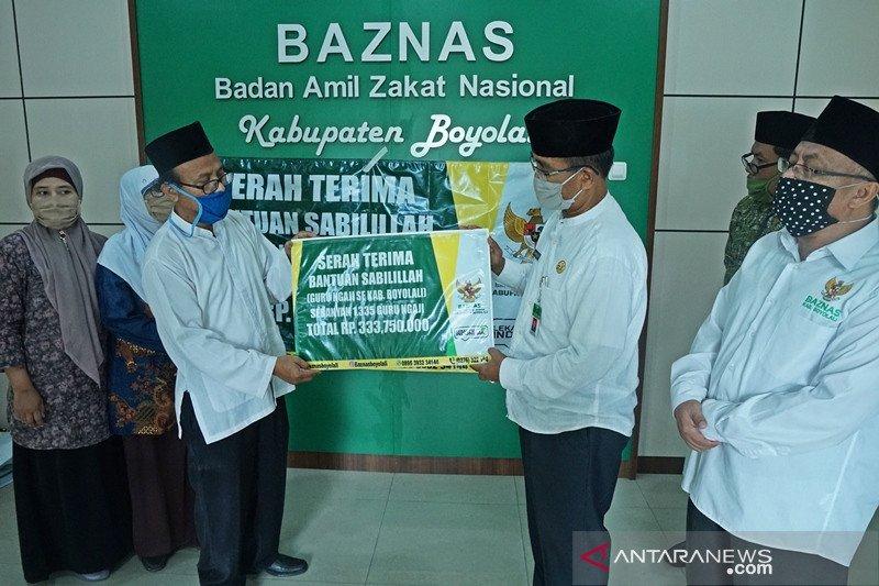Baznas bantu dana bagi 1.335 guru mengaji di Boyolali