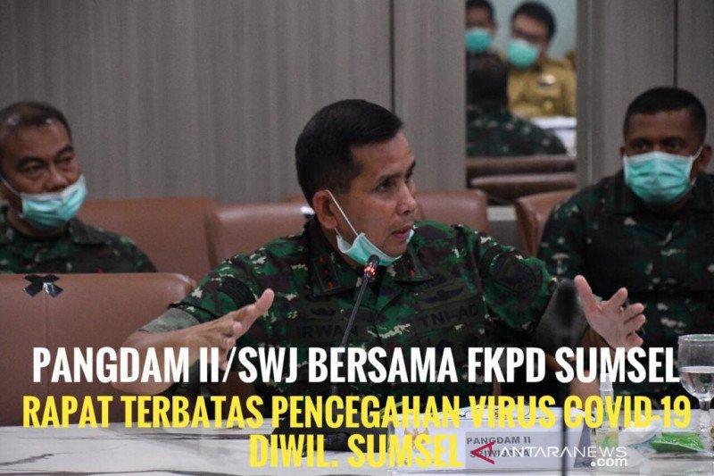 Pangdam Sriwijaya instruksikan semua prajurit cuti di rumah
