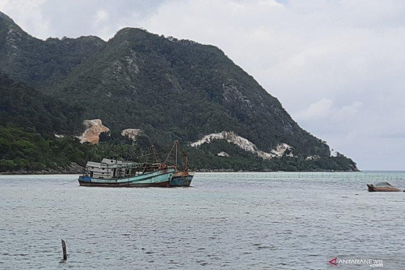 KKP kembali tindak dua kapal ikan asing ilegal di Laut Natuna