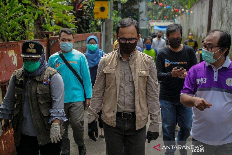 Wali Kota Bogor tinjau RW siaga antisipasi pemudik Lebaran