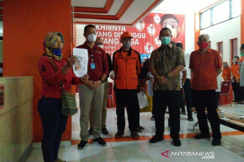 Pantau penyaluran BST di Jateng, Mensos minta jangan untuk membeli rokok