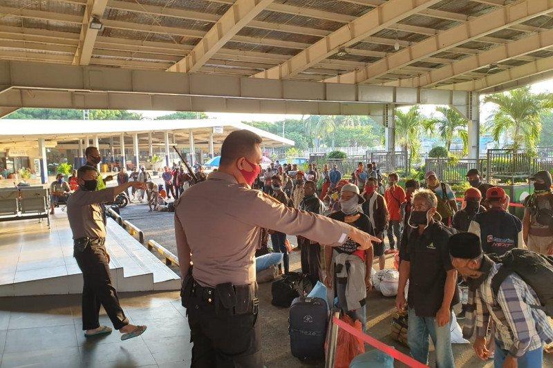 Jumlah penumpang di Pelabuhan Bakauheni 4.280 orang
