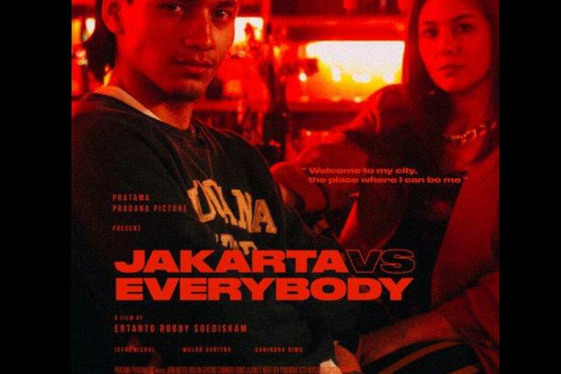 """Film """"Jakarta VS Everybody"""" mengangkat permasalahan anak muda di Jakarta"""