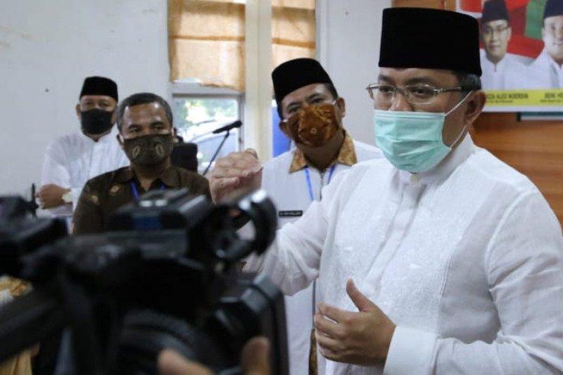Bupati Muba Dodi Reza dan pemuka agama serukan shalat Id di rumah