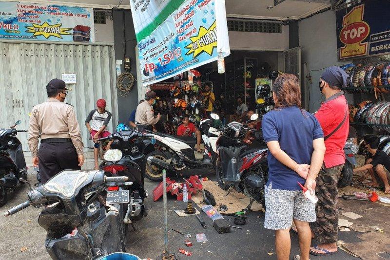 Satgas Aman Nusa masih mendapati  banyak warga tidak pakai masker