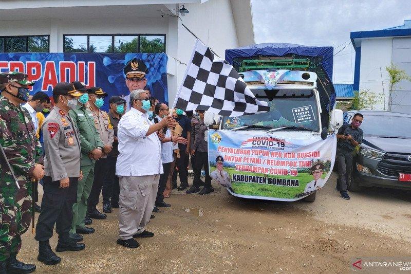 Sulawesi Tenggara salurkan 417 ton pupuk perkuat sentra produksi pangan