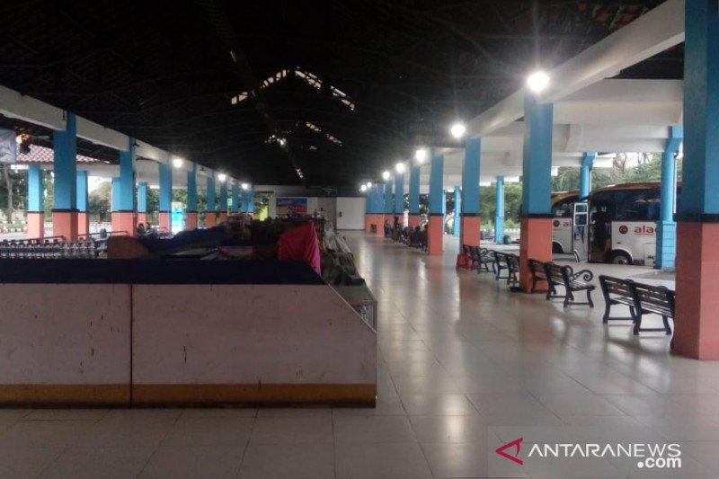 Terminal Bulupitu Purwokerto lengang H-2  jelang Lebaran