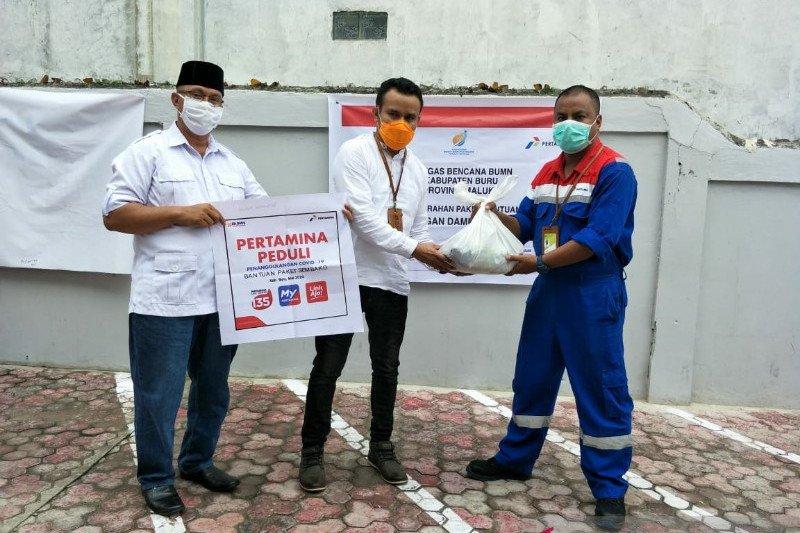 Pertamina-Sinergi BUMN salurkan 3.894 paket bantuan COVID-19