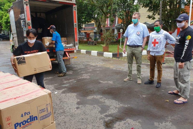 ICRC distribusikan bantuan 45 lapas di Jabar dan Banten cegah COVID-19