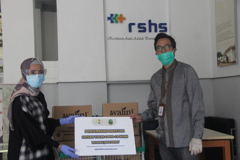 PTPN VIII salurkan bantuan Rp2 miliar untuk Jabar-Banten terkait COVID-19