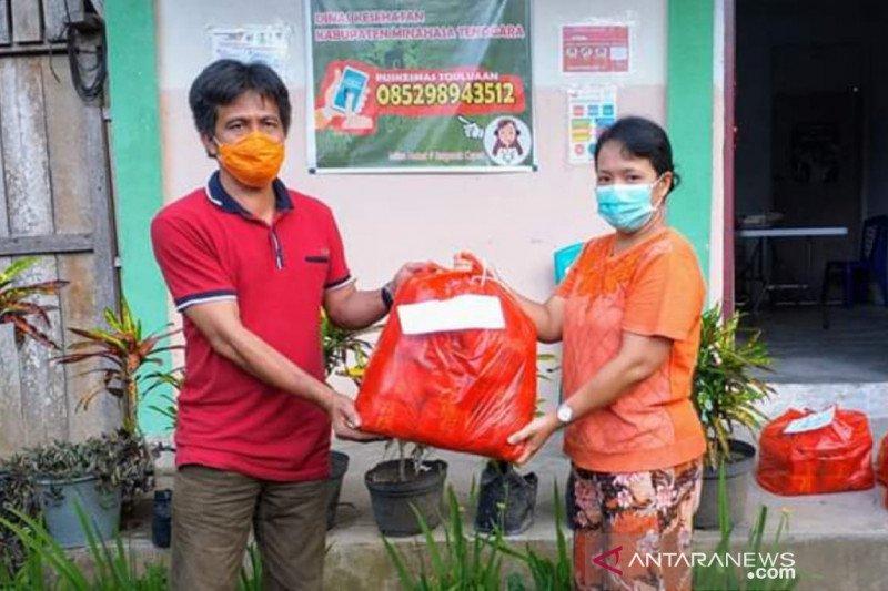 Pemkab Minahasa Tenggara membagikan 120 ribu masker gratis