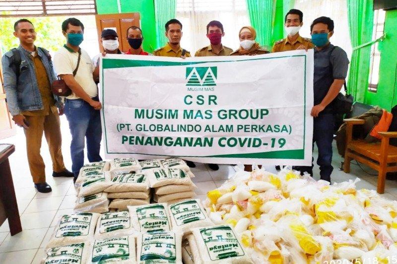 PT Globalindo Alam Perkasa kembali berikan ratusan sembako untuk masyarakat