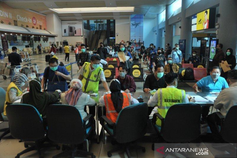 Sejak 10 Mei 2020, penumpang Bandara SMB II Palembang rata-rata 234 orang per hari