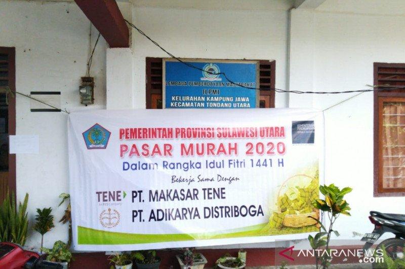 Dsperindag Sulut gelar pasar murah Lebaran 2020 di wilayah perbatasan