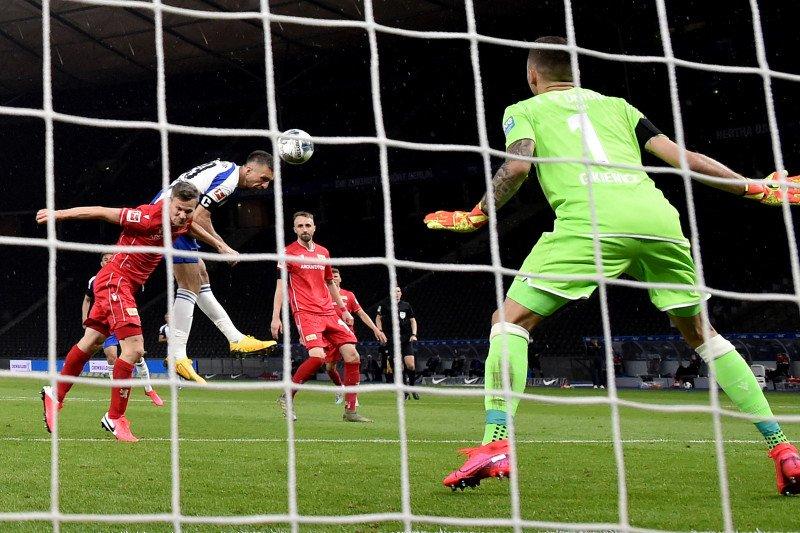 Derbi Berlin, Hertha cukur Union 4-0 pada lanjutan Bundesliga