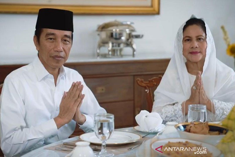 Presiden Jokowi tidak mudik ke Solo, peringati Idul Fitri di Istana Bogor
