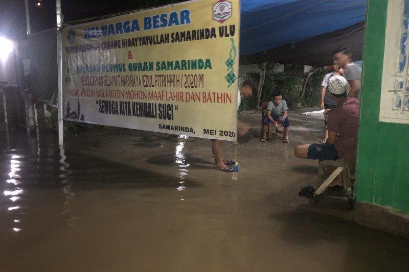 Samarinda dikepung banjir di malam Lebaran