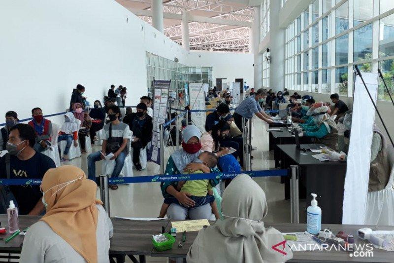 Bandara Syamsudin Noor sediakan tes cepat biaya Rp150 ribu