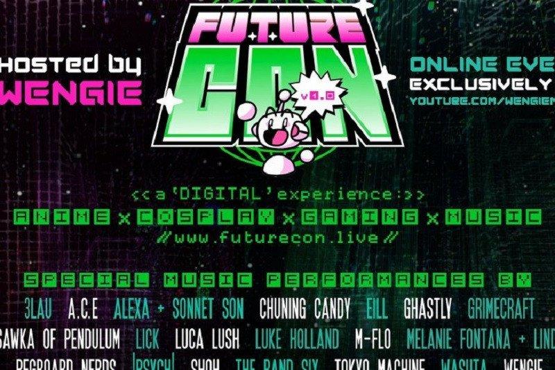 """Festival musik dan anime perdana """"FutureCon"""" akan digelar virtual"""