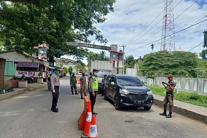 1.370 pengguna kendaraan bermotor ditolak masuk Aceh