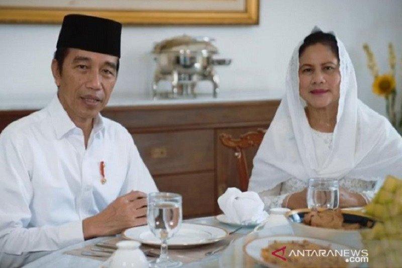 Presiden Joko Widodo dan Ibu Negara Iriana ucapkan selamat Idul Fitri 1441 H