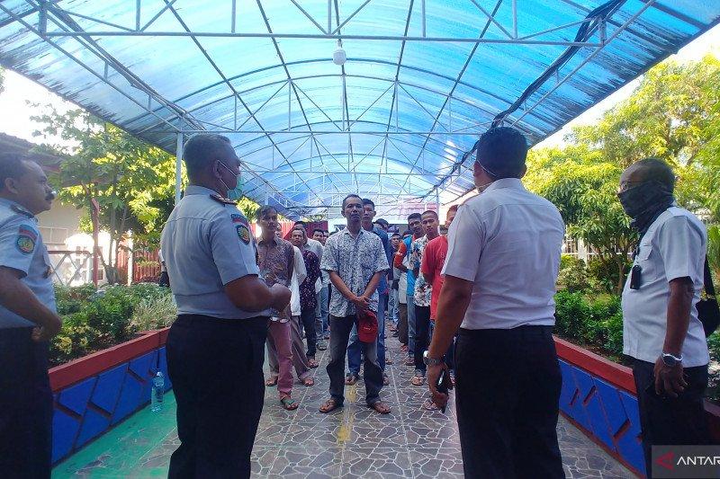 Lapas Padang tiadakan kunjungan untuk warga binaan
