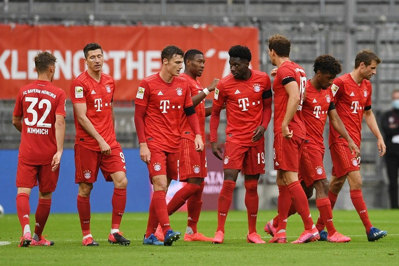 Klasemen Liga Jerman, Bayern jaga posisi puncak
