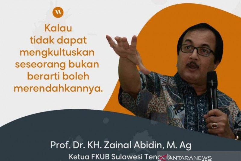 Ketua MUI Palu Prof Zainal: Idul Fitri momen bangkitkan persaudaraan sesama manusia