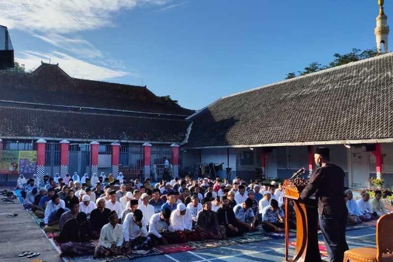 63 warga binaan Rutan Temanggung dapat remisi Lebaran