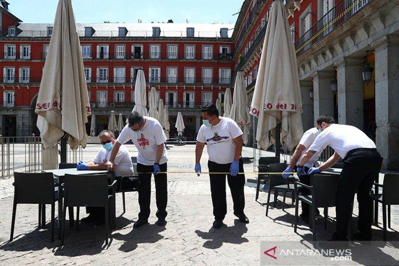 Real Madrid dan Atletico bantu masyarakat terkena dampak COVID-19