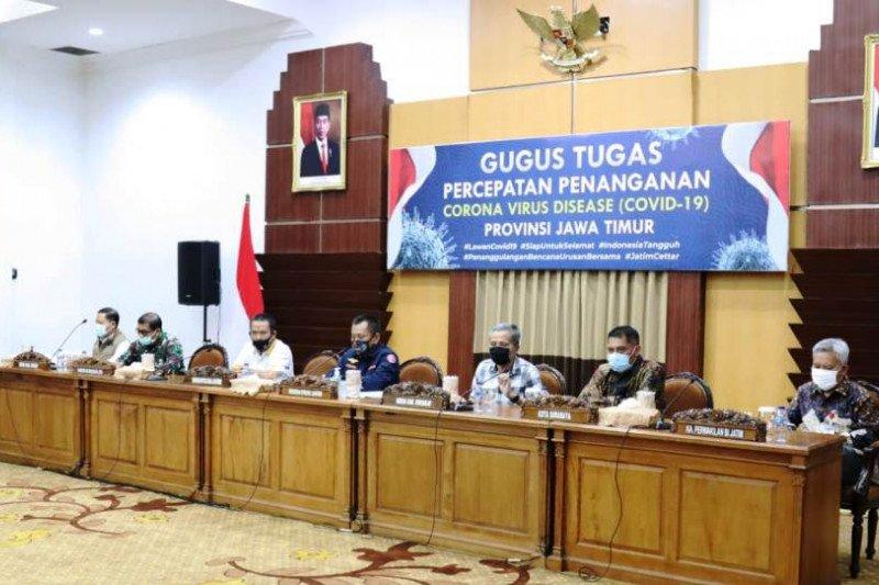 """Pemprov Jatim perpanjang PSBB di """"Surabaya Raya"""" hingga 8 Juni"""
