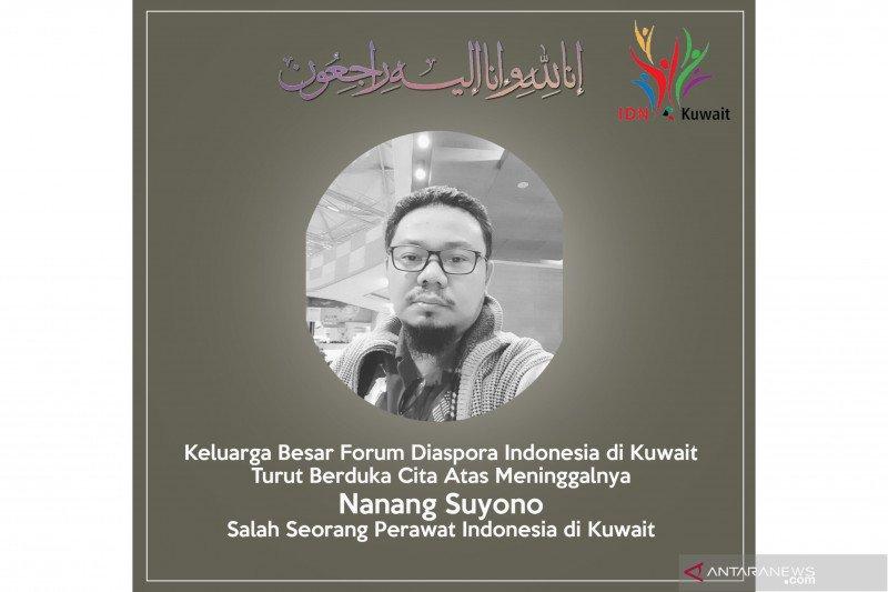 Perawat Indonesia di Kuwait meninggal karena COVID-19