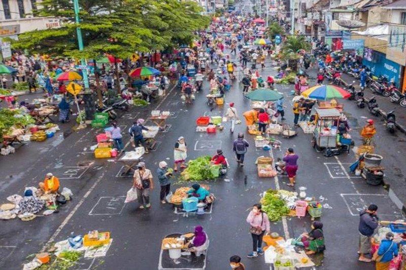 Cegah COVID-19, Pemda se-Kalteng diminta ciptakan pasar sembako darurat