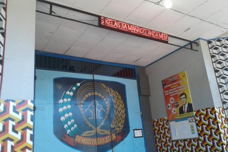 335 narapidana Sulut dapat remisi khusus Idul Fitri