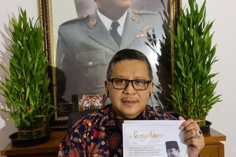 """Megawati bangga dapat lagu """"Sungkem"""" Didi Kempot"""