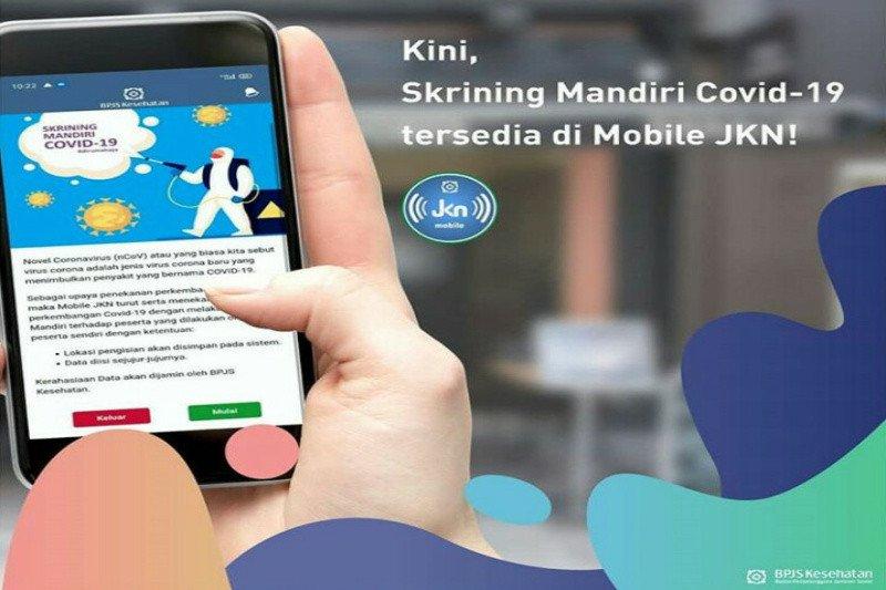 Yuk mencoba fitur Skrinning COVID-19 di aplikasi Mobile JKN