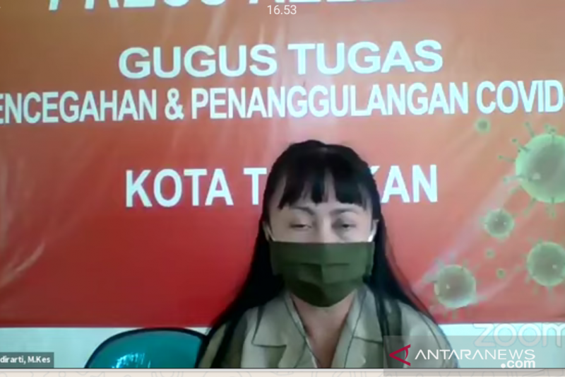 Tujuh pasien positif COVID-19 dinyatakan sembuh di Tarakan