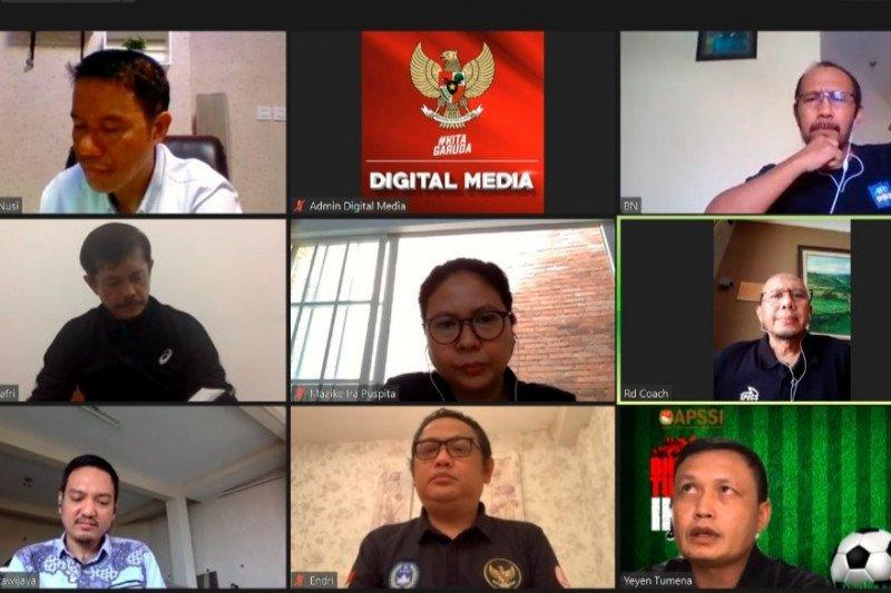 PSSI: asosiasi pelatih Indonesia inginkan liga dilanjutkan